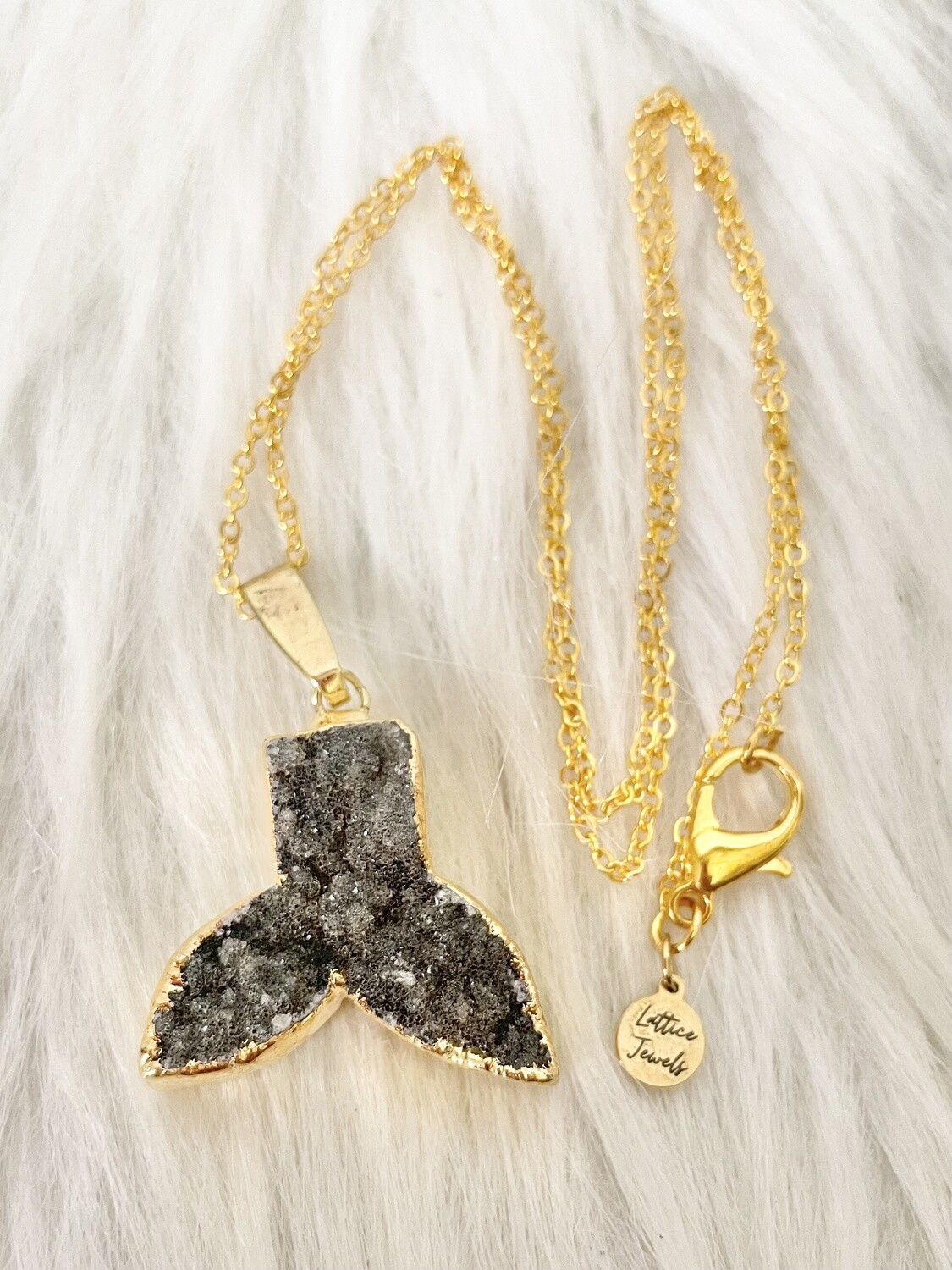 Mermaid Memories Gold Plated Necklace