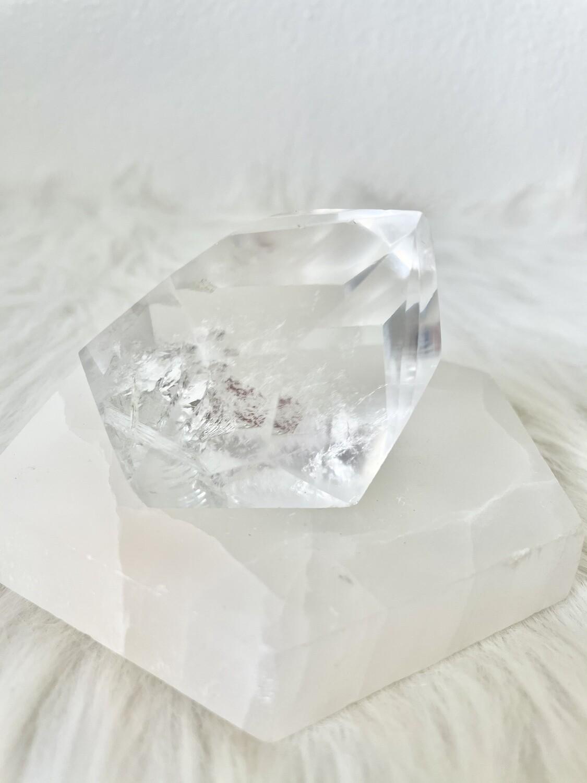 Diamond Clear Quartz Freeform