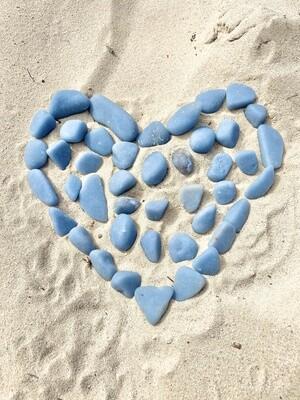 Angels On the Beach Angelite Tumbles