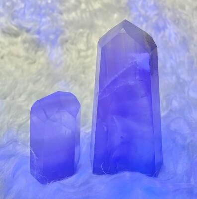 Fluorescent Yttrium Fluorite Towers