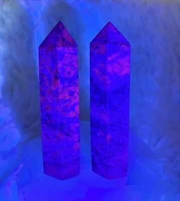 Fluorescent Ruby Kyanite