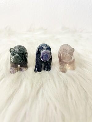 3 Lil Fluorite Bears