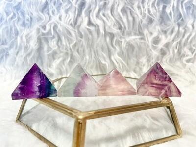 Royal Fluorite Pyramids