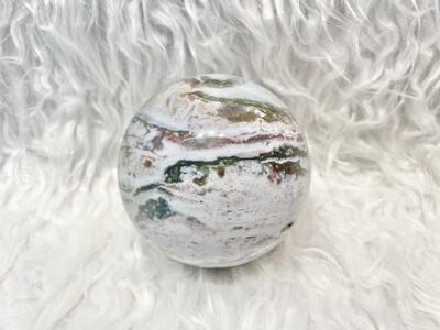 Fresh New World Ocean Jasper Sphere