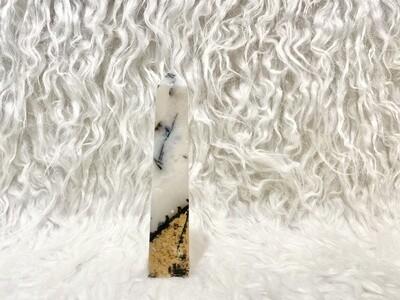 Snowy Desert Hybrid of Dendritic Agate