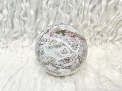Peaceful Paradise Ocean Jasper Sphere