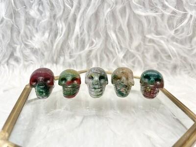 Five Kings Ocean Jasper Skulls