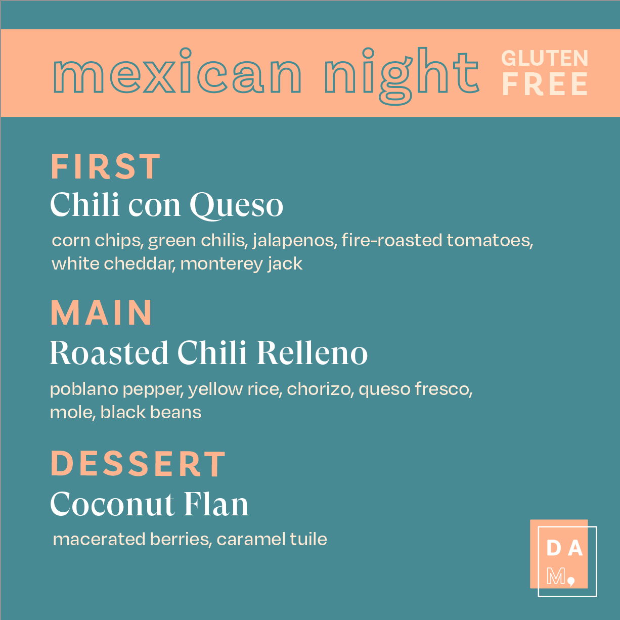 Mexican Night [gluten free, optional veg]