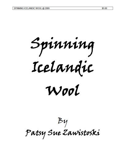 Spinning Icelandic Wool