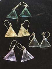 John Of God Mini Dangle Earrings