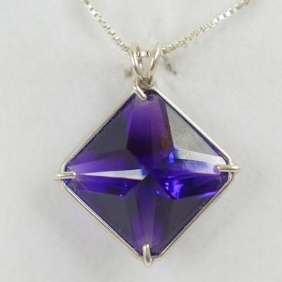 Siberian Purple Quartz Magician Stone