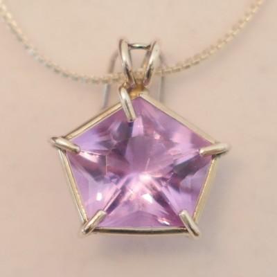 Ruby Lavender Star of Venus