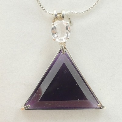 Siberian Purple Vogel with Morganite