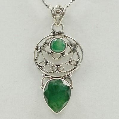 Emerald Universe Pendant