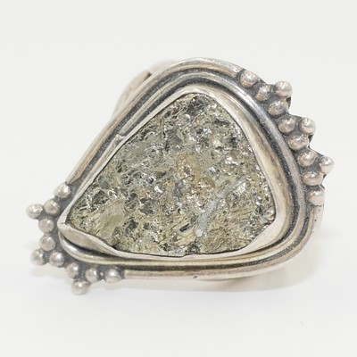 Pyrite (Fool's Gold) Ring