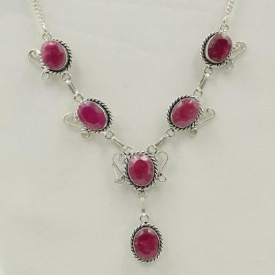 Rubellite Necklace