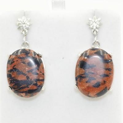 Fire Agate Earrings