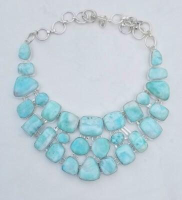 Larimar Show Piece necklace