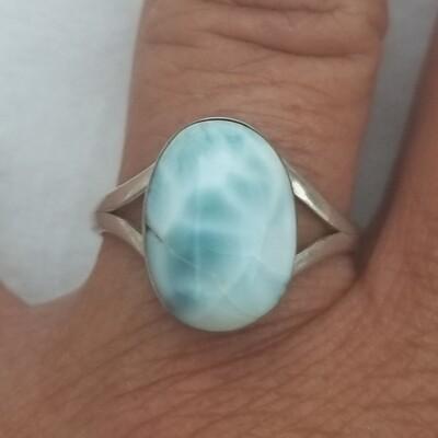 Larimar ring Size 7.5