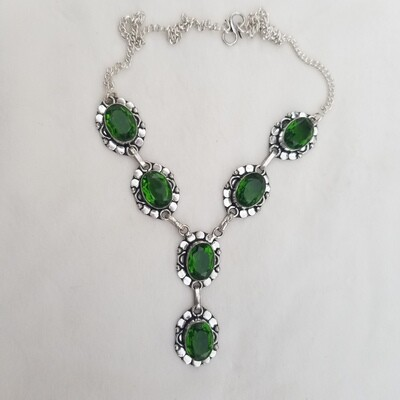 Peridot necklace  was $333 now $155 vintage