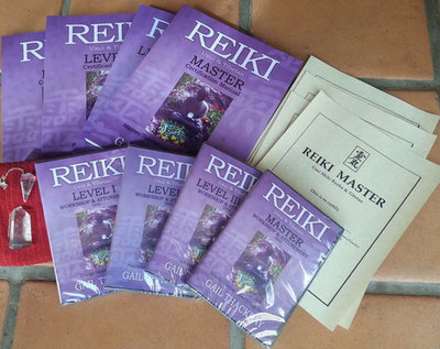Complete Reiki Home Study Course Package *Show Special Save $100*