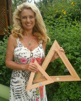 Blessed Brazilian Wood Casa Prayer Triangles *Only A Few Available!!*