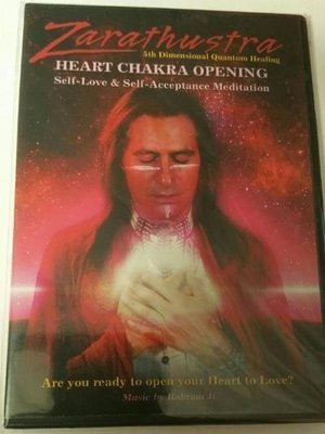 *NEW* Heart Chakra Opening DVD With Zarathustra!