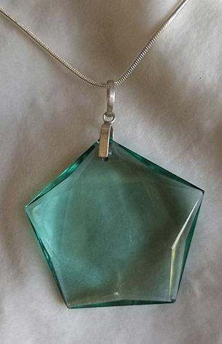 Green Obsidian Star