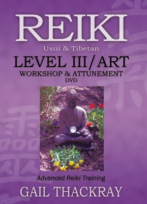 Reiki Level 3 Workshop & Attunement DVD - Advanced Reiki Training (ART)