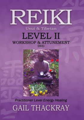 Reiki Level 2 Workshop & Attunement DVD