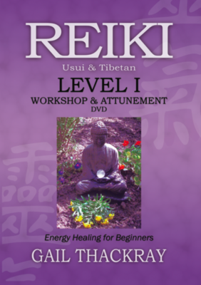 Reiki Level 1 Workshop & Attunement DVD