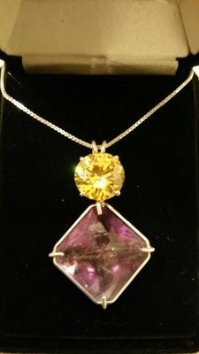 Siberian Purple Magician with Gold Topaz