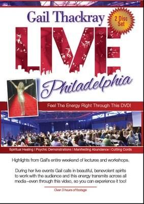 Gail Thackray: LIVE Philadelphia DVD 2 Disc Set