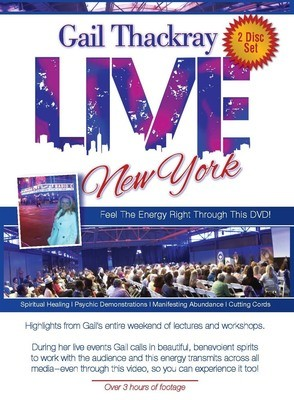 Gail Thackray: LIVE New York DVD