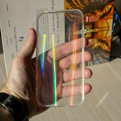 Силиконовый чехол Laser для iPhone 12 Pro
