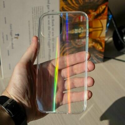 Силиконовый чехол Laser для iPhone 12 Pro Max
