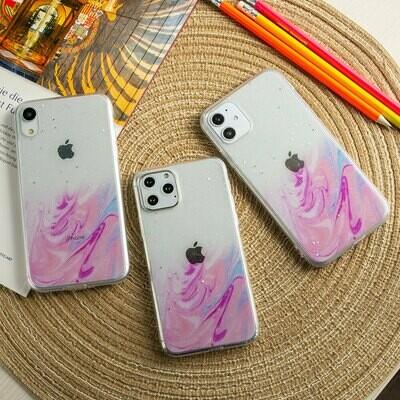 Силиконовый чехол Акварель для iPhone 12 Pro
