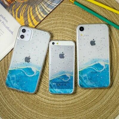 Силиконовый чехол Акварель для iPhone 12 Pro Max