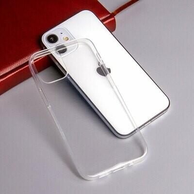 Силиконовый чехол для iPhone 12 Mini, 1 мм