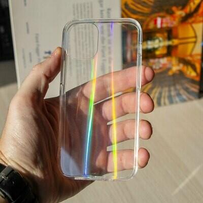 Силиконовый чехол Laser для iPhone 12 Mini