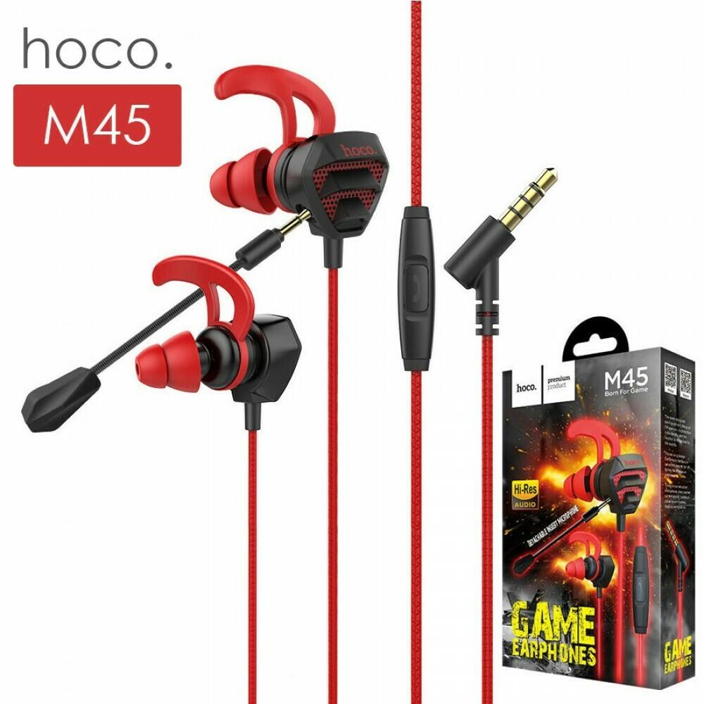 Наушники с микрофоном Hoco M45 3.5 mm