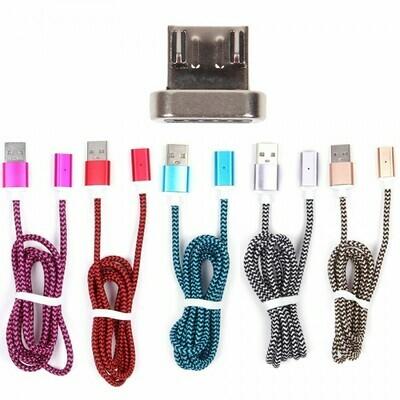 USB- micro USB дата кабель магнитный