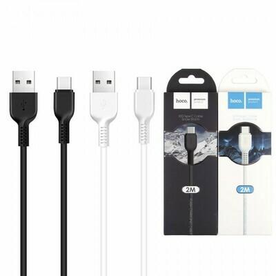 USB-Type C дата кабель HOCO X20, 2 м