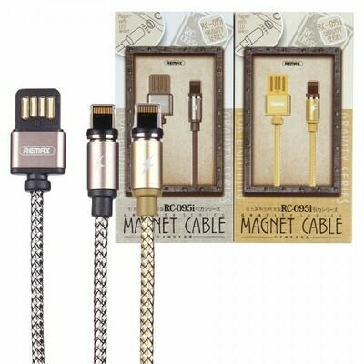 USB дата кабель Remax Gravity series for Lightning RC-095i
