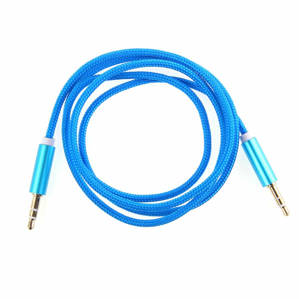 Aux аудио кабель 1 метр (в ассортименте)