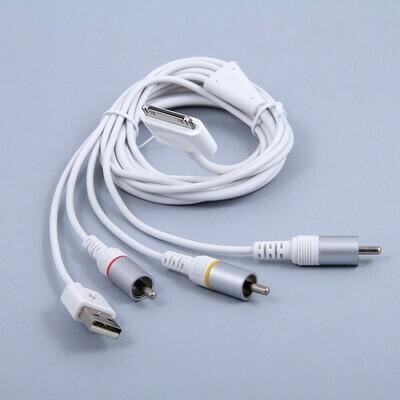 AV кабель для Apple iPad iPhone iPod с USB