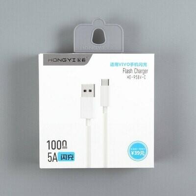USB дата кабель HongYi Type-C 5A