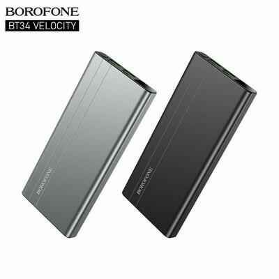 Внешний аккумулятор Power Bank 10000 mAh Borofone BT34, PD+QC3.0