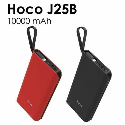 Внешний аккумулятор универсальный Hoco J25B 10000 mAh с кабелем Type-C
