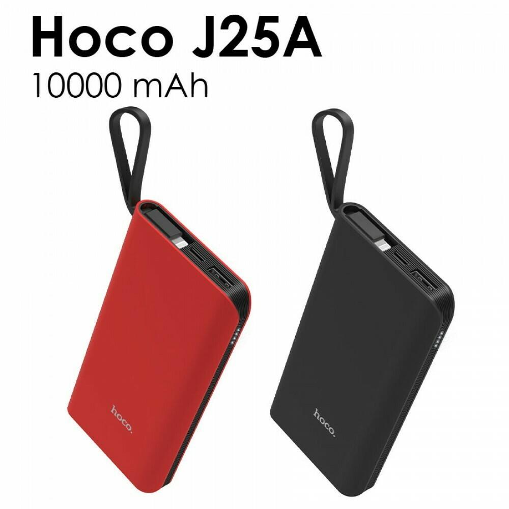 Внешний аккумулятор универсальный Hoco J25A 10000 mAh с кабелем Micro